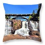 Gooseberry Falls 4 Throw Pillow