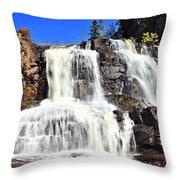 Gooseberry Falls 6 Throw Pillow