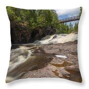Gooseberry Fifth Falls 9 Throw Pillow