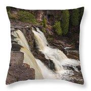 Gooseberry Middle Falls 26 Throw Pillow