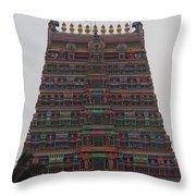Gopuram Throw Pillow