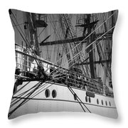Gorch Fock ... Throw Pillow