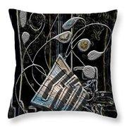 Gordian Harp Throw Pillow
