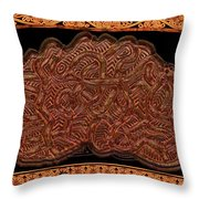 Gordian Knot Throw Pillow