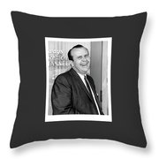 Gordon E. Doc Hamilton 1926  2004 Kvoa Tv Tucson Arizona Dick Mayers Photo C.1968 Throw Pillow