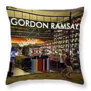 Gordon Ramsay Throw Pillow