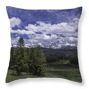 Gore Range Throw Pillow