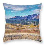 Gore Range Ranch Throw Pillow