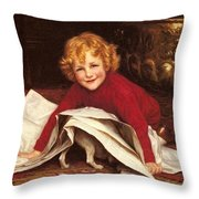 Gore William Henry Playmates William Henry Gore Throw Pillow