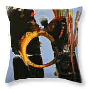 Gored Of The Rings Throw Pillow