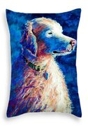 Gorge Dog Throw Pillow