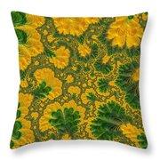 Gorgeous Fabric Design - Series Number Ten Throw Pillow