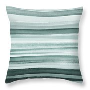 Gorgeous Grays Abstract Interior Decor I Throw Pillow