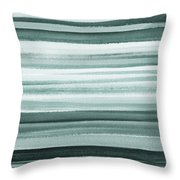 Gorgeous Grays Abstract Interior Decor II Throw Pillow
