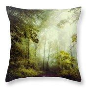 Gorgeous Woods Throw Pillow