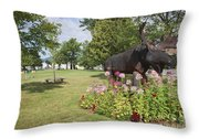 Gorham New Hampshire Usa Throw Pillow