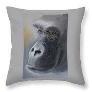 Gorilla Love Throw Pillow
