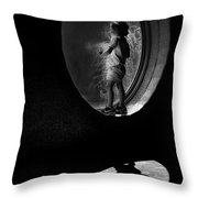 Gorilla Watch Throw Pillow