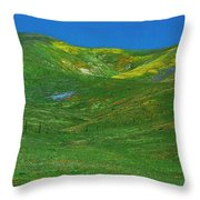Gorman Wildflowers Throw Pillow