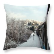 Gorski Kotar 2 Throw Pillow