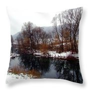 Gorski Kotar 3 Throw Pillow
