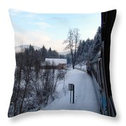 Gorski Kotar  Throw Pillow