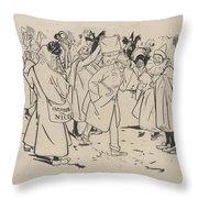 Gose Rovira Throw Pillow