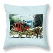 Goshen Parade 1980-2 Throw Pillow