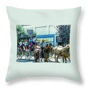 Goshen Parade 1980-3 Throw Pillow