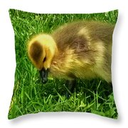 Gosling On Her Own Throw Pillow