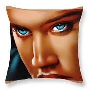 Gospel Elvis Throw Pillow