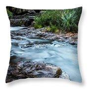 Gossamer Flow Throw Pillow