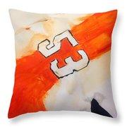 Gostisbehere No.1 Throw Pillow