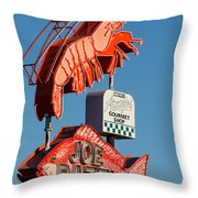 Got Shrimp 3 Throw Pillow