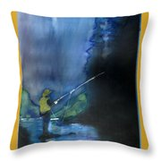 Harvest Time In Wyoming Throw Pillow