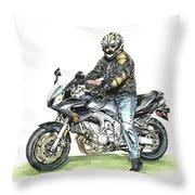 Got To Ride Throw Pillow