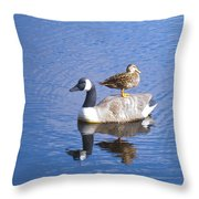 Got Your Back Throw Pillow