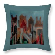 Gothem City Throw Pillow