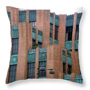 Gothic Architecture In Los Angeles Throw Pillow