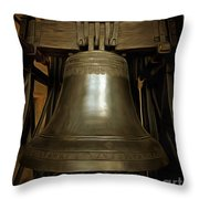 Gothic Bell Throw Pillow