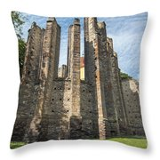 Gothic Cathedral Of Our Lady Throw Pillow