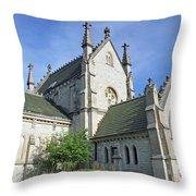 Gothic Chapel, Indianapolis, Indiana Throw Pillow
