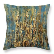 Gothic Church  Throw Pillow