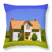 Gothic Dream Throw Pillow