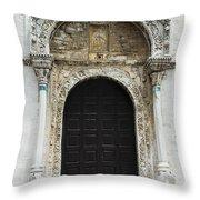 Gothic Entrance Throw Pillow