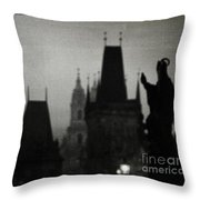 Gothic Nights Throw Pillow by Sharon Coty