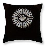 Gothic Rose Throw Pillow