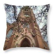 Gothica Omega Throw Pillow