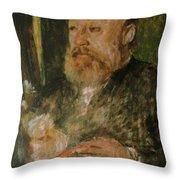Gottfried Keller Throw Pillow