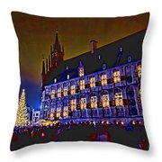 Gouda By Candlelight-1 Throw Pillow
